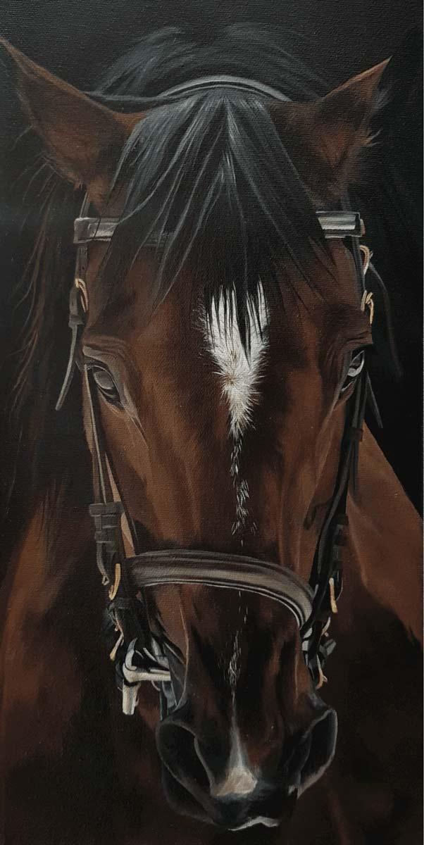 Peindre un cheval cours de peinture en ligne peinture huile
