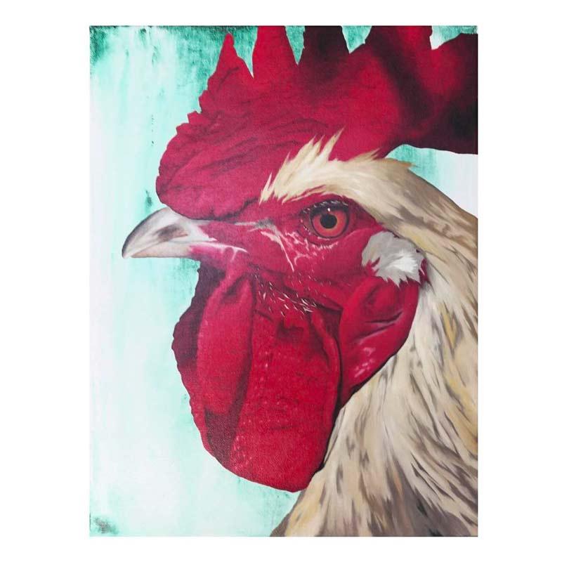 Cours de peinture en ligne peindre un coq