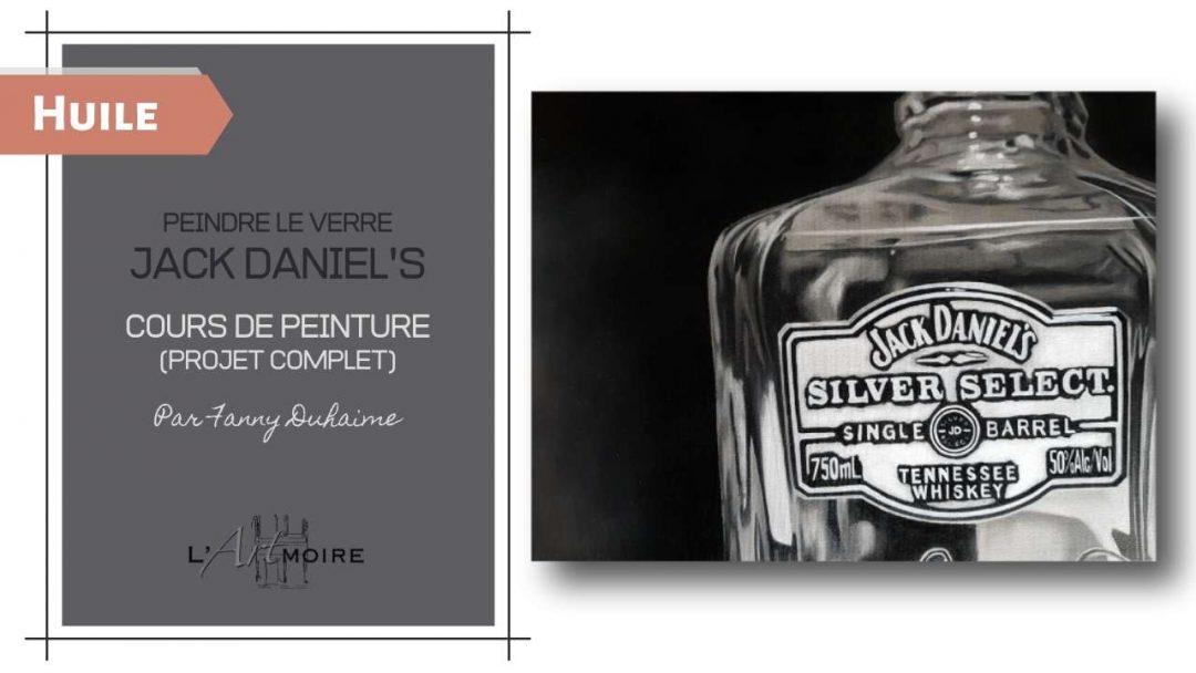 Peindre le verre – Jack Daniel's
