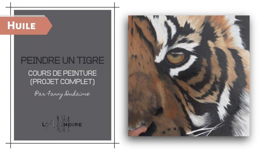 Peindre un Tigre