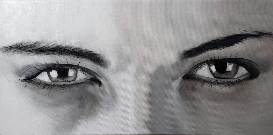 Cours de peinture en ligne peindre un regard