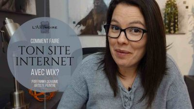 Comment faire ton site avec Wix