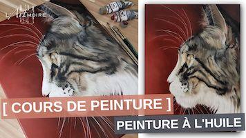Comment peindre la fourrure d'un chat en peinture à l'huile
