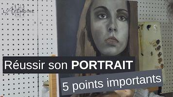 Comment réussir à peindre un portrait