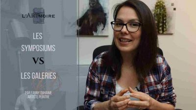 Les symposiums de peinture vs les galeries