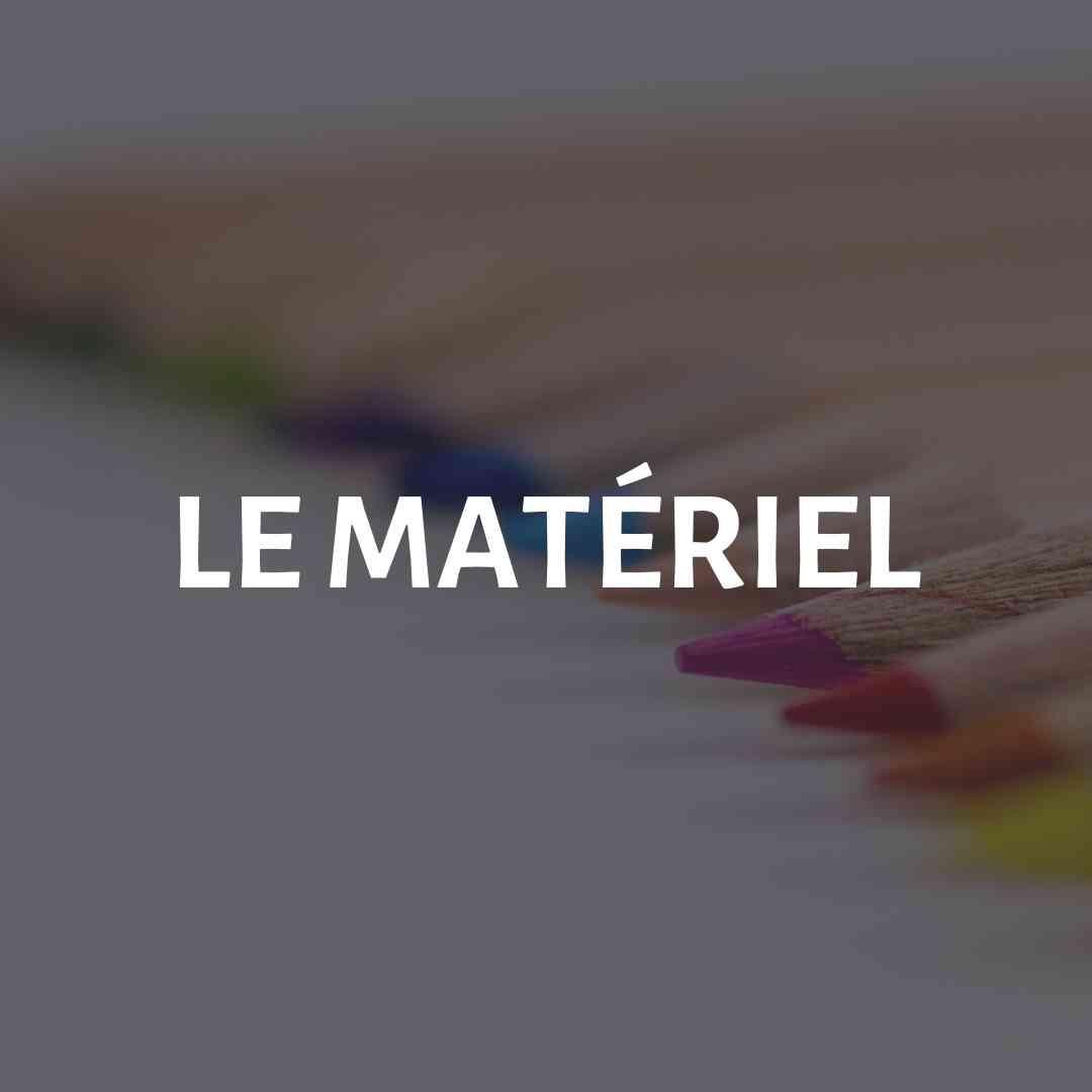 Débuter en peinture aquarelle - Le matériel