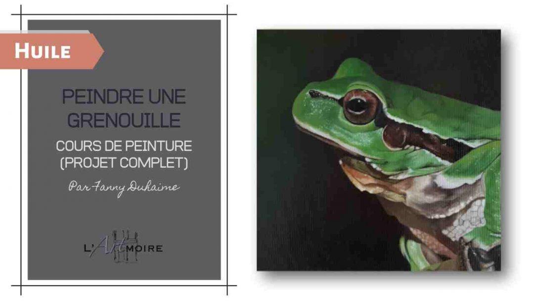 Peindre une grenouille