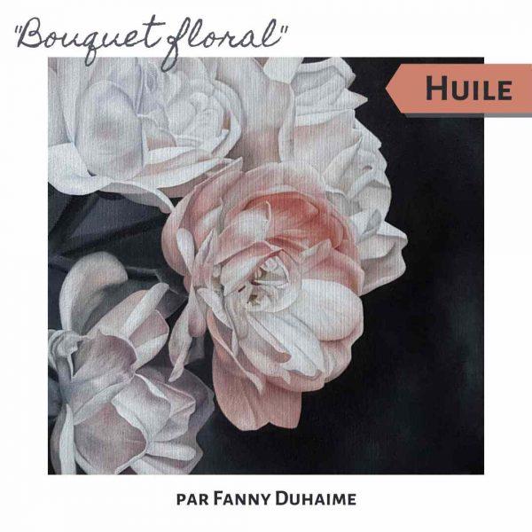 Cours de peinture en ligne Bouquet Floral