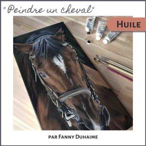 cours de peinture en ligne peindre un cheval peinture à l'huile