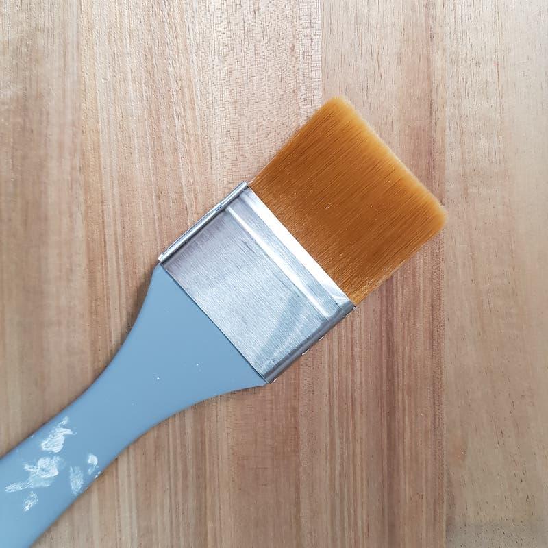 Pinceau en peinture à l'huile