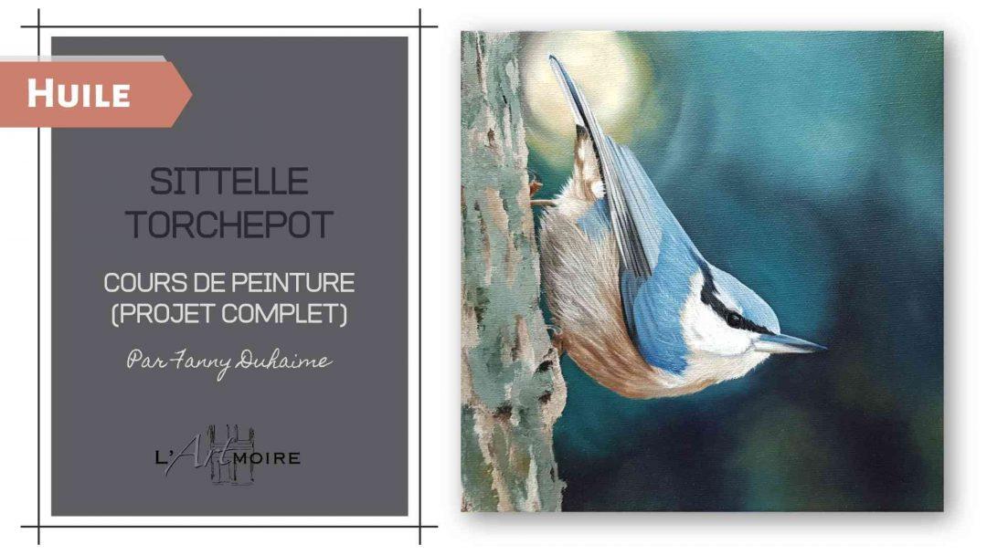 Sittelle Torchepot – Cours de peinture à l'huile