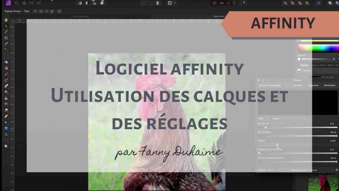 Affinity – Utilisation des calques et des réglages