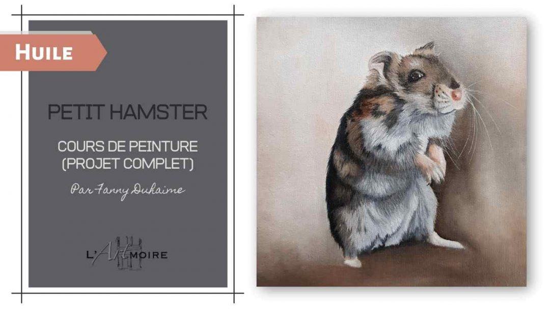 Petit Hamster – Cours de peinture à l'huile soluble à l'eau