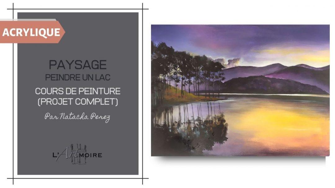 Paysage – Cours de peinture acrylique