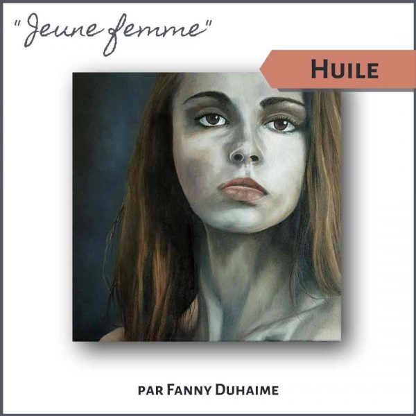 Cours de peinture à l'huile portrait femme