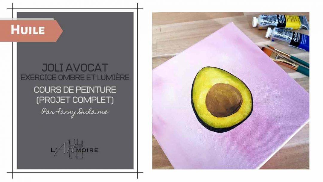 Joli avocat – Cours de peinture à l'huile