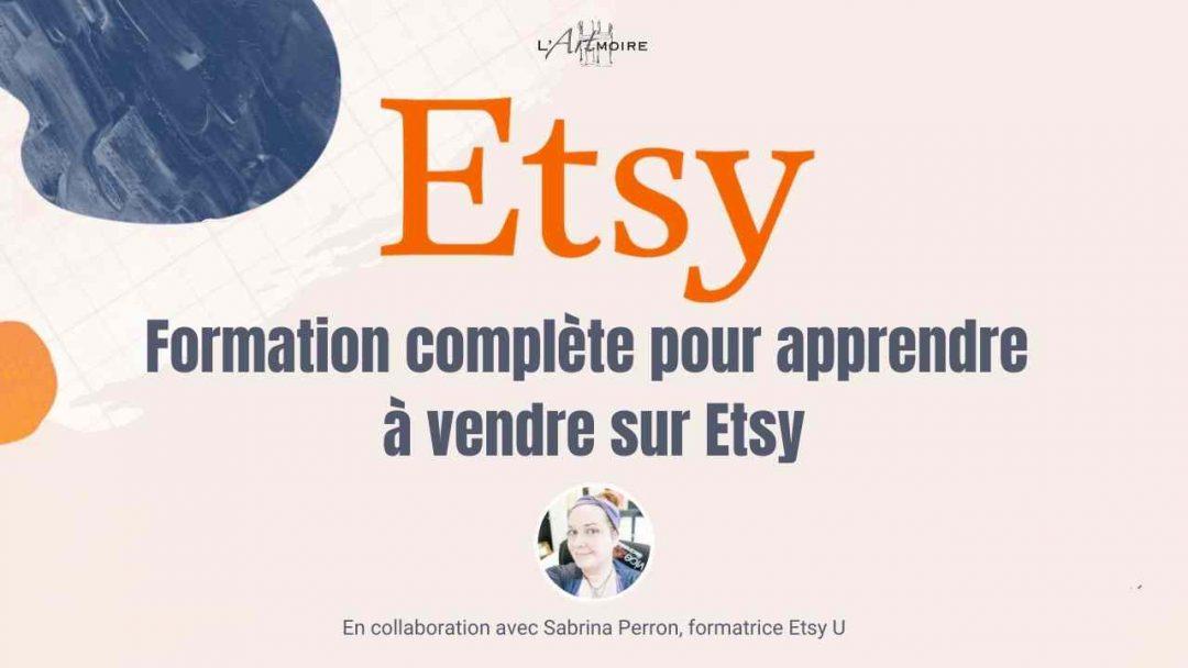 Formation Vendre sur Etsy
