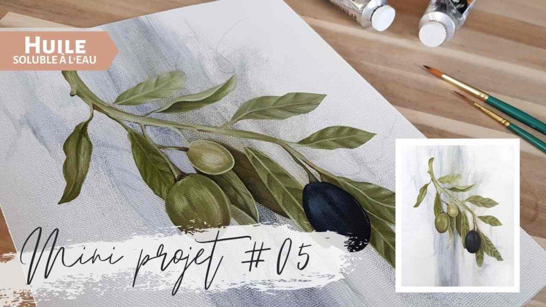 Mini projet #05 – Branche d'olives