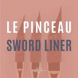 Le meilleur pinceau pour la peinture à l'huile: Le sword liner