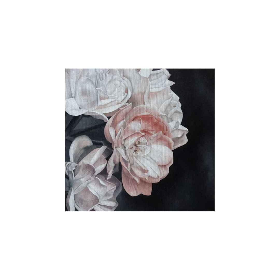bouquet de fleur cours de peinture à l'huile